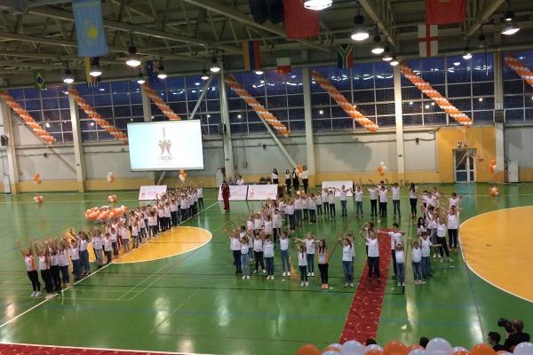 """Вчера в ФОК """"Ока"""" состоялось торжество, посвященное юбилею этого спортивного учреждения."""